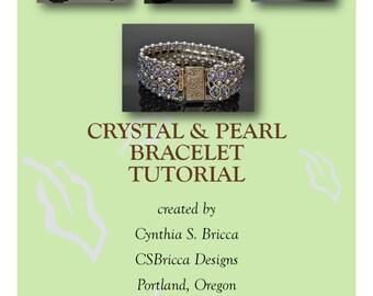 Crystal & Pearl Bracelet Tutorial