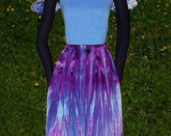 Twilight Dream Hand Dyed Skirt