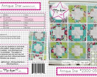 Antique Star PDF Quilt Pattern