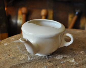 """Mid-Century Invalid Feeding Cup Made in England """"B"""""""