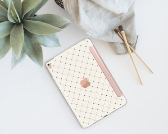 Platinum Edition Simple is Beautiful with Rose Gold Smart Cover Hard Case for the iPad Air 2, iPad mini 4 , iPad Pro , New iPad 9.7 2017