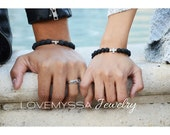 Couples Bracelets - Matching Bracelets | Christianity | Spiritual | Anniversary | Birthday Gifts | Husband Wife | His Hers Bracelets | OOAK