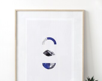 Poster Large 'Olika' -  Graphic limited edition