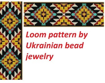 American tribal pattern loom patterns Native pattern cuff bracelet indian pattern loom bead patterns even count bracelet pattern for jewelry