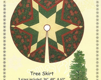 Unique Tree Skirt Pattern Related Items Etsy