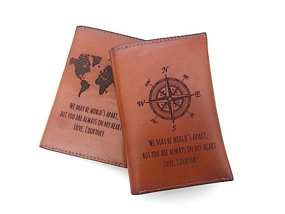 Passport Cover Quote Leather Passport Holder Passport Case