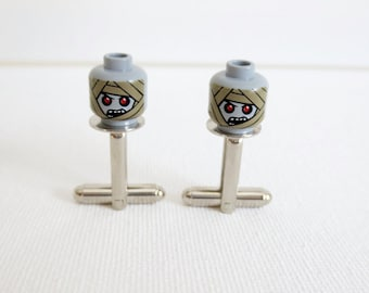 Mummy Cufflinks Cuff Links LEGO Wedding Groom Groomsmen Gift