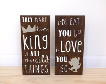 Where the Wild Things Are Baby Shower | King of all Wild Things | I'll Eat You Up I Love You So