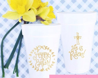 Easter Cups - Mix of both designs (Qty 24)
