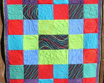 Space - Worlds Without Number Quilt
