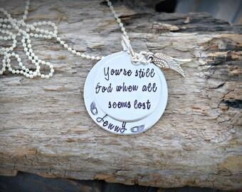 Inspirational Jewelry Inspirational Necklace
