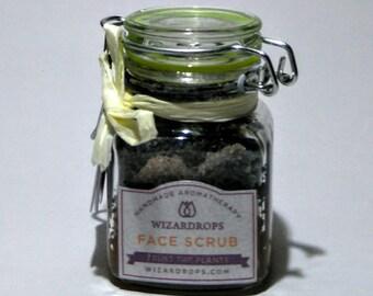 Organic Face Scrub with Charcoal and Himalayan Salts