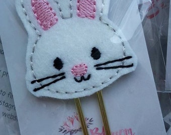Easter Bunny Paper Clip