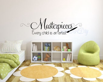 Nursery Wall Decals Once Upon A Time Quote Wall Sticker - Nursery wall sticker quotes