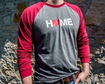 Ohio Home Shirt Long Sleve Baseball FREE SHIPPING