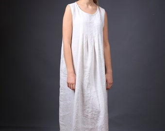 Linen dress. Long linen dress / Loose summer dress / Linen clothing / loose linen dress