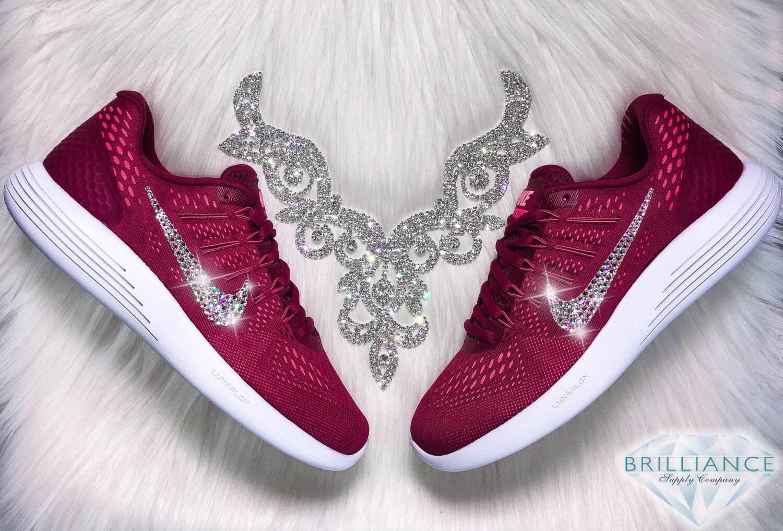 nike roshe run femmes black - Unique maroon shoes related items | Etsy