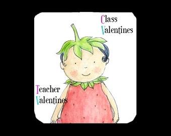 Kids valentine Cards, Valentine kids cards, Cards for Children, Thank you card, Valentine for kids, Kids Valentines