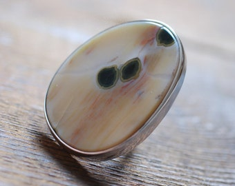 Dollybird Surf Ring Ocean Jasper