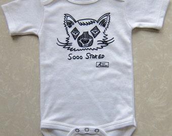 BABY Lennon Lemur / unisex baby clothes/ girl onesie/ cute baby gift/ baby girl/ baby shower/ baby boy onesie/ lemur/ monkey / baby shower