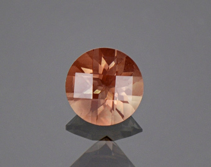UPRISING SALE! Interesting Checkerboard Round Sunstone Gem from Oregon 1.13 cts.