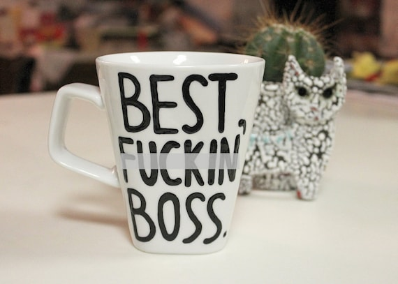 best f*cking boss mug gift for boss mug funny office gift going away present leaving job coffee cup i quit gift mug coworker -mature content