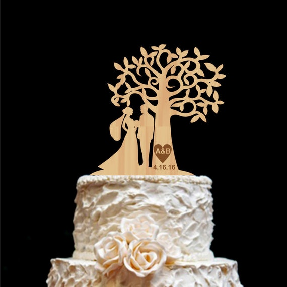 wedding cake toppers etsy rustic wedding cake topper personalized monogram cake topper 8824