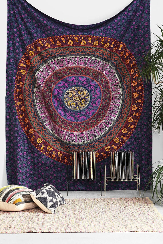 Big Indian Mandala Hippie Wall hanging Tapestry