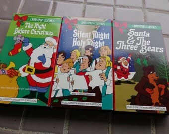 Christmas, VHS Christmas movies, Kids Christmas movies