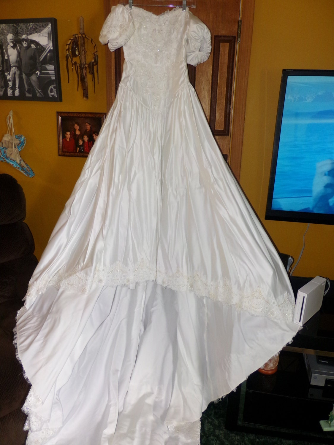 Alfred Angelo Wedding Dresses Reviews : Vintage alfred angelo wedding dress gown by