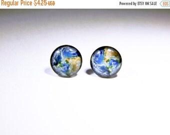 Earth Earrings, World Map Earrings, Galaxy Earrings, Map Earrings, Earth Jewelry, Moon Earrings, World Map, Nebula Earrings, Space Jewelry