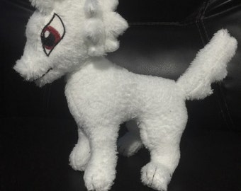 Ghost Plushie- Game of Thrones, Dire Wolf, Stark, Jon Snow, Birthday, Christmas, Gift, Collectable
