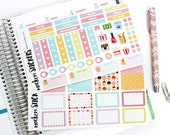 Planner Stickers / Cupcake Kit / Weekly Layout / Erin Condren Planners