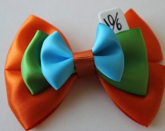 Tea Party Mad Hatter Inspired Bow