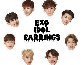 NEW EXO Idol Earrings - Choose Your Style