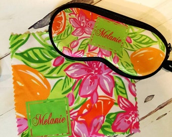 Monogrammed Sunglasses Case, Personalized Sunglasses Case, Custom Sunglasses Case, Glass Case, Eyeglass Case, Eye Glass Cloth