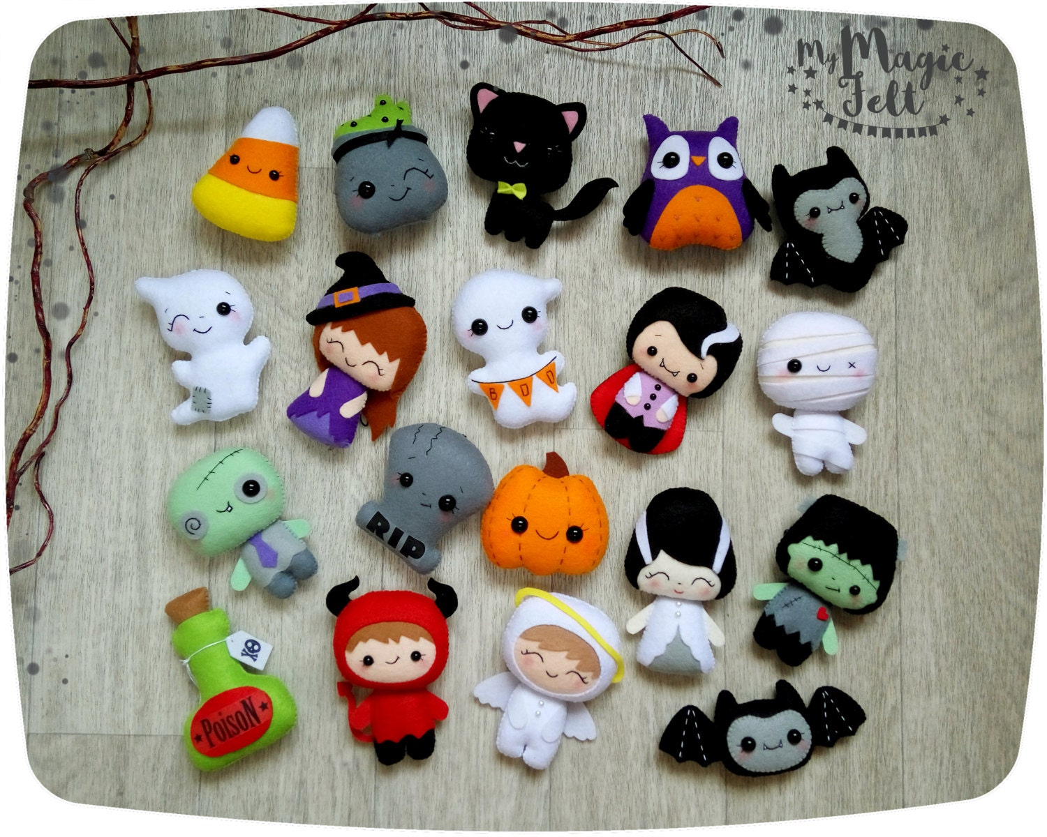 halloween ornaments cute halloween ornament felt halloween