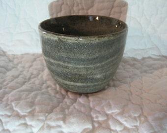 wheel thrown ceramic swirled mug