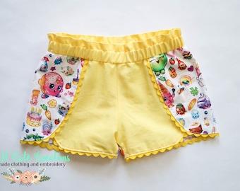 Shopkin Party Shorts
