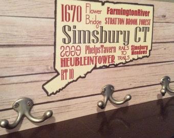 I love Simsbury Coat Hanger