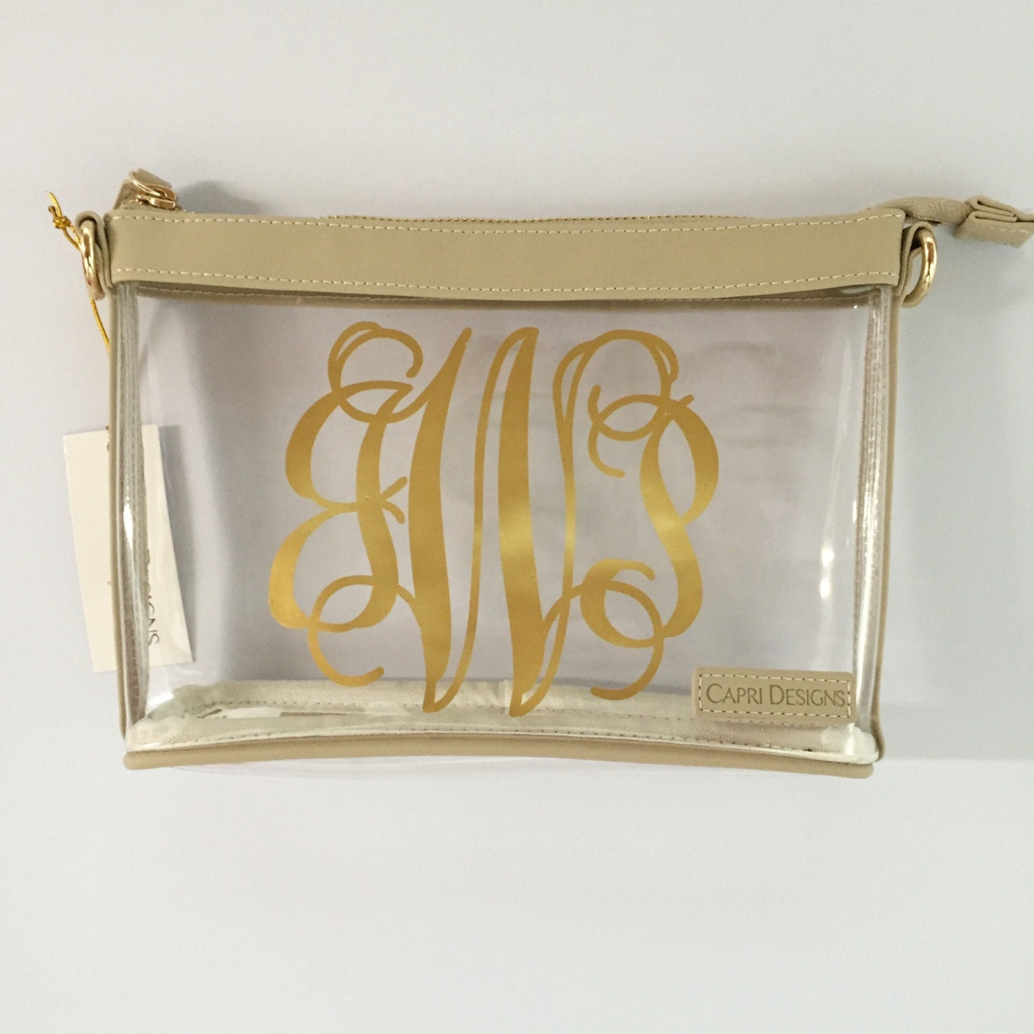 stadium approved clear cross body purse large