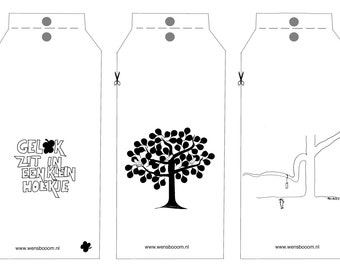 Wensbooom labels