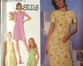 Misses' Sundress With Keyhole Neck and Length Variations---Style 2800