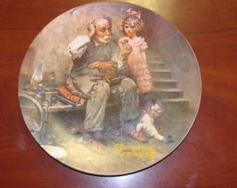 Norman Rockwell Plate 1978