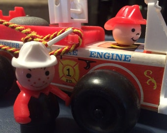 Vintage Fisher Price Firetruck
