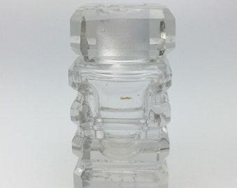 Vintage Lucien Lelong Mon Image Perfume Bottle, Lucien Lelong Perfume Bottle, Crystal Perfume Bottle, Vintage Perfume Bottle