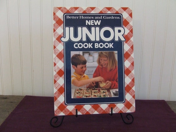 Better Homes And Gardens New Junior Cook Book Vintage