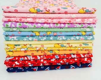 Fat Quarter Bundle Toy Chest by Penny Rose Studios - 15 Fabrics