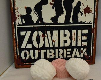 halloween, zombie brains, halloween favors, soap, theme soap, party favor, walking dead,