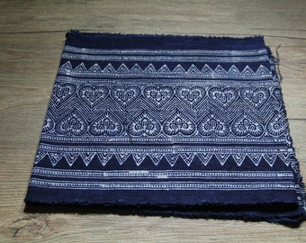 New Hmong Batik fabric from northern Thailand